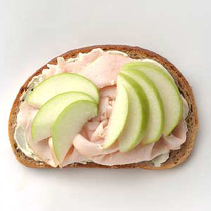 Turkey, Green Apple, and Brie Sandwich