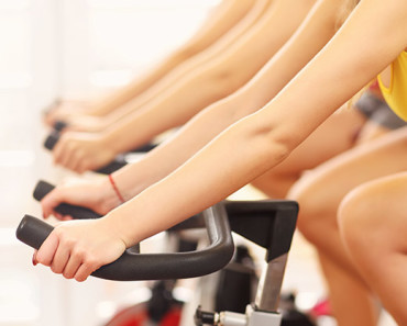 people in every spin class