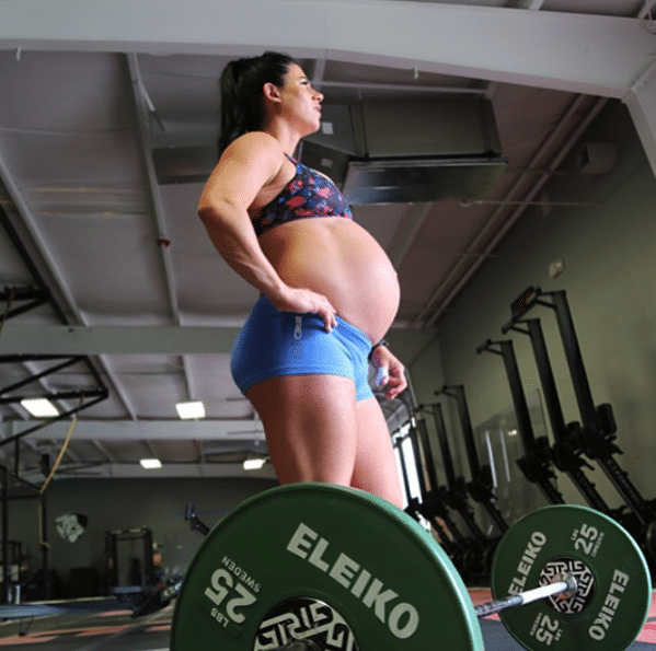 Emily Breeze Pregnant Crossfit