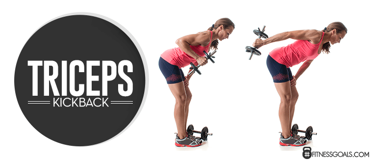 Triceps Kickback Arm Toning Workouts
