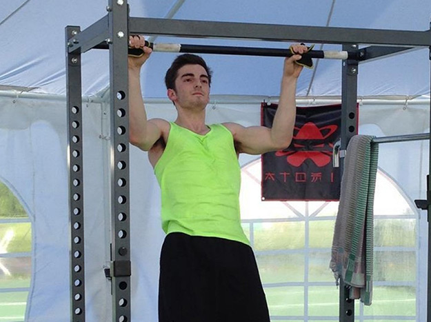 Andrew Shapiro Most Pull Ups in 24 Hours