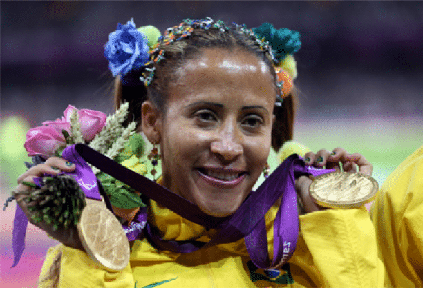 disabled female athletes Terezinha Guilhermina