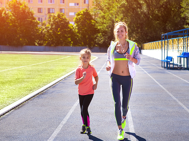 lose weight with kids