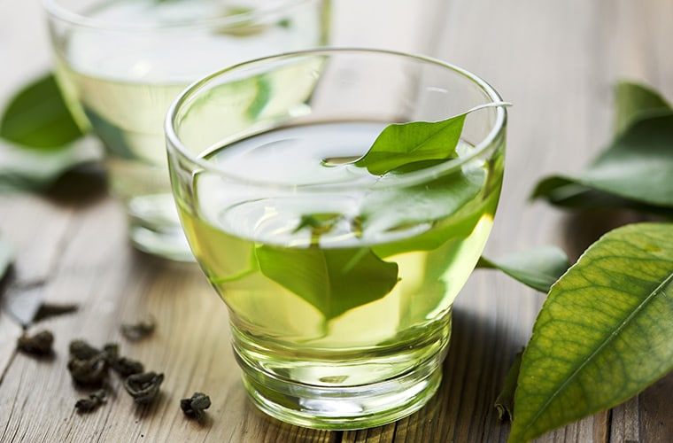 green tea heart healthy food