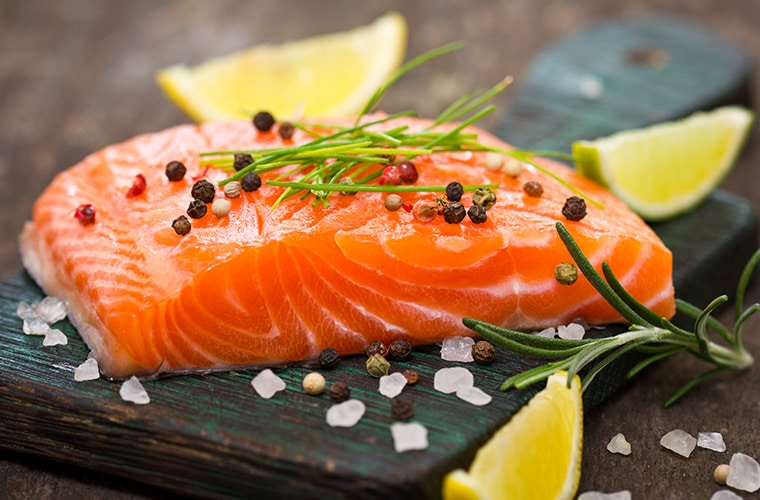 salmon heart healthy food