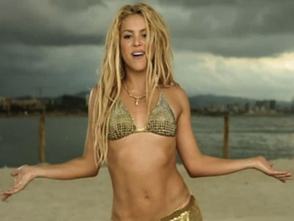 Shakira How to Get Abs