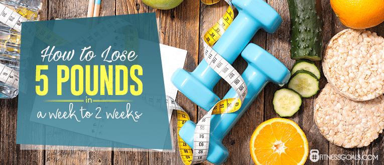 how to lose 5 pounds a week