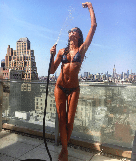 Izabel Goulart Ab Exercises for Women
