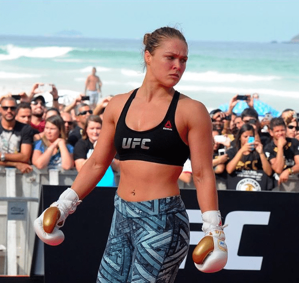 Ronda Rousey How to Get Abs for Girls