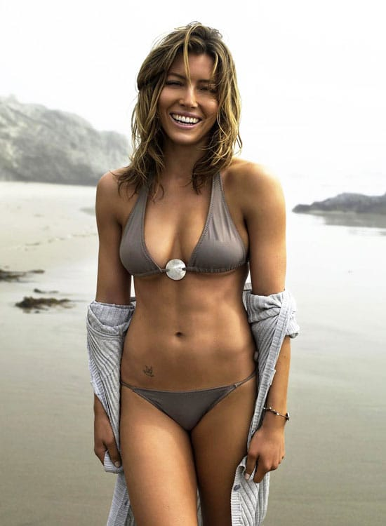 Jessica Biel How to Get Abs