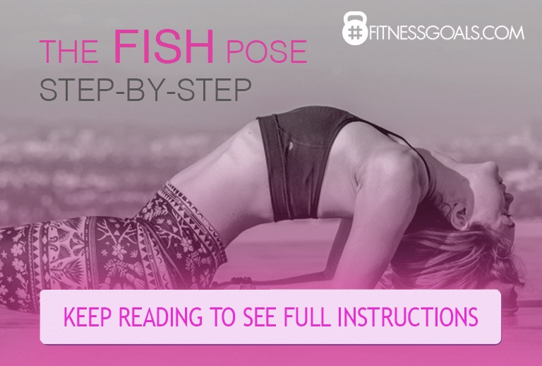 Yoga Fish Pose