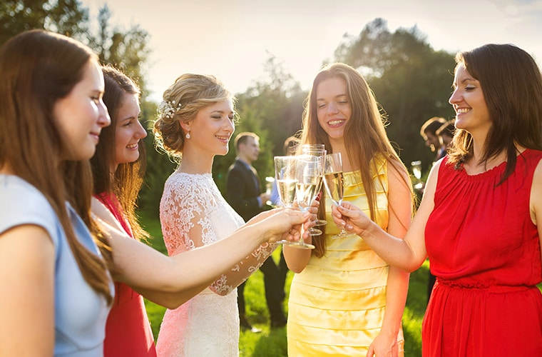 You were nominated to make a toast at your BFF's wedding. What is your decision?