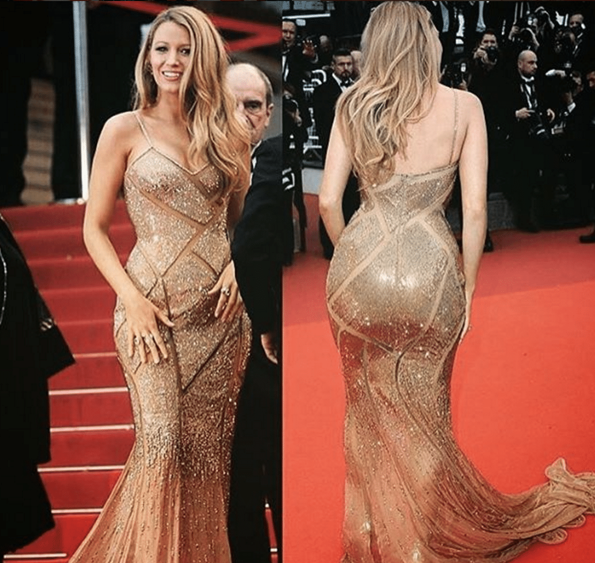 Blake Lively Female Butts