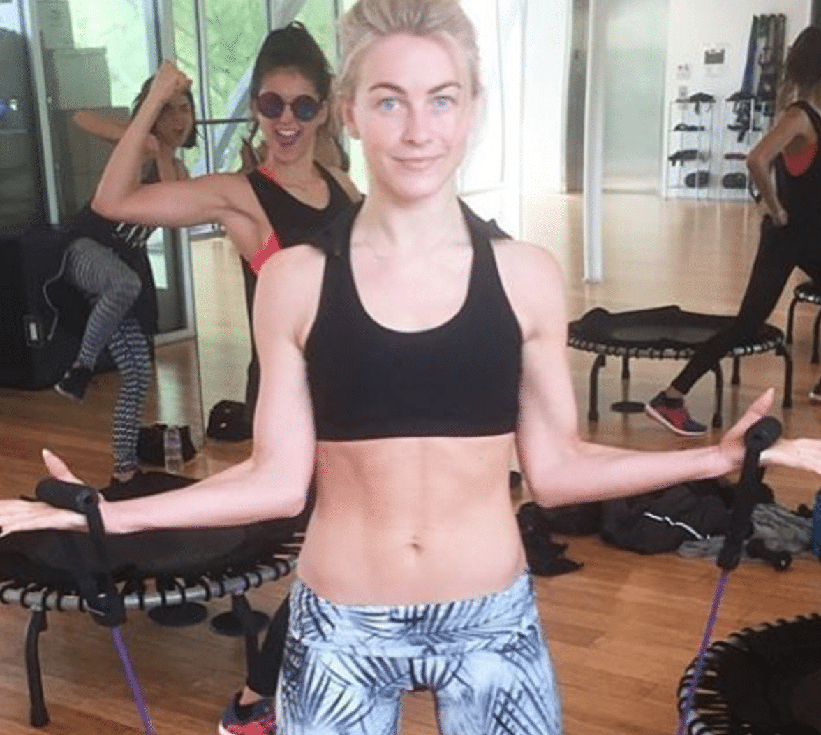 Julianne Hough Chest Exercises for Women