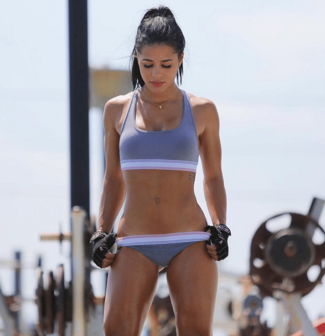 Katya Elise Henry Chest Exercises for Women