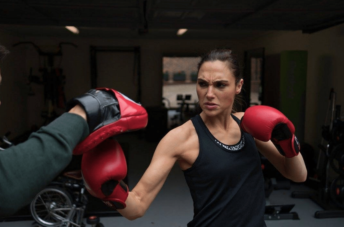 Gal Gadot Female Chest Workout