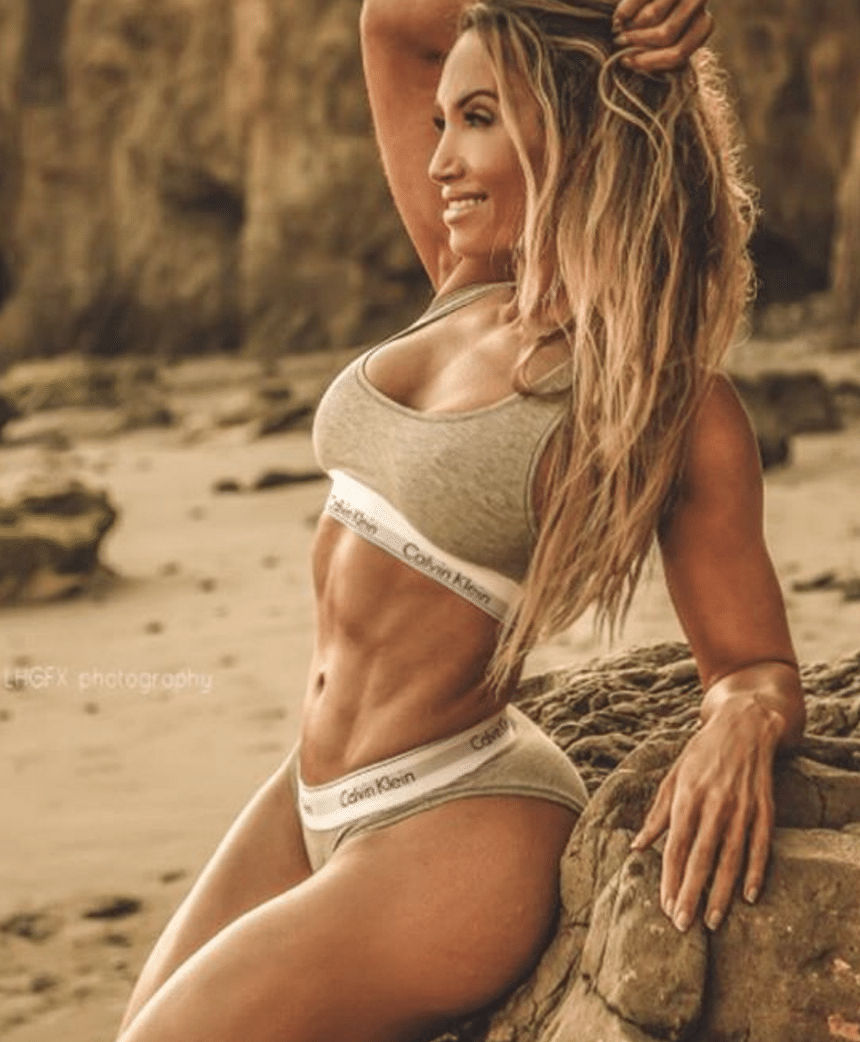 Lyzabeth Lopez Female Chest Workout