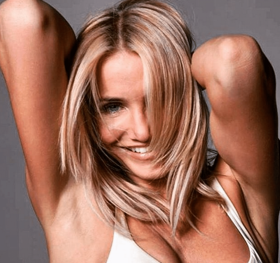 Cameron Diaz Female Chest Workout
