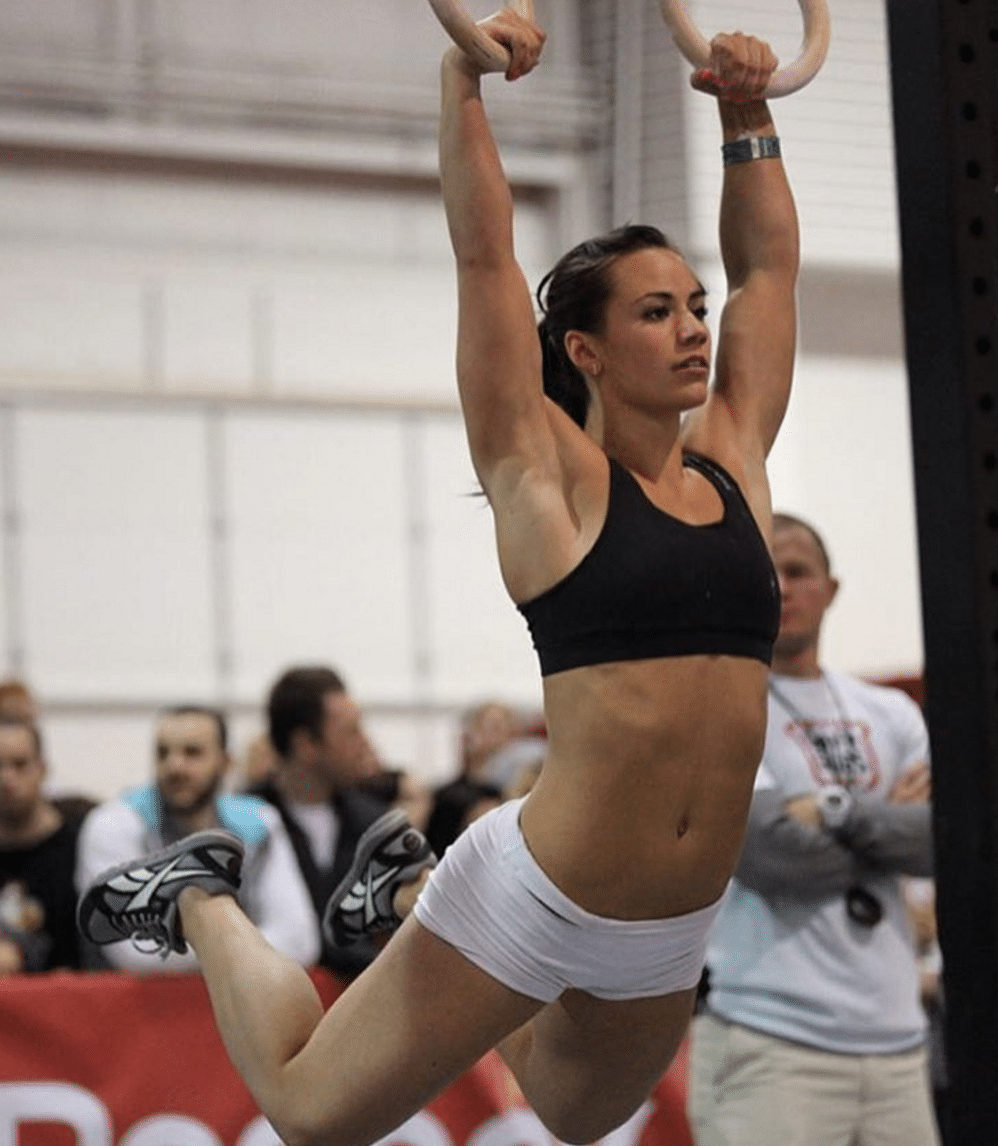Camille Leblanc-Bazinet Female Chest Workout