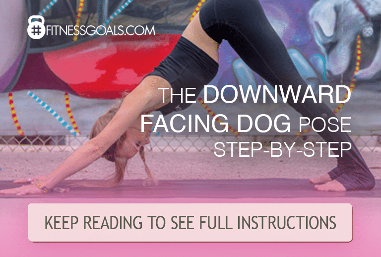 down dog yoga pose