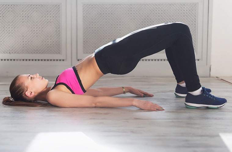 Hip Raises Exercise