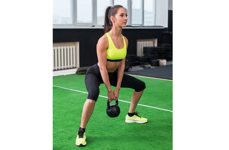 how to do a sump squat variation