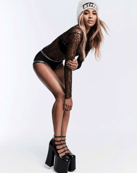 Ciara calves exercises