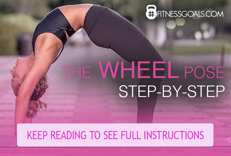 Wheel Pose Step-by-step