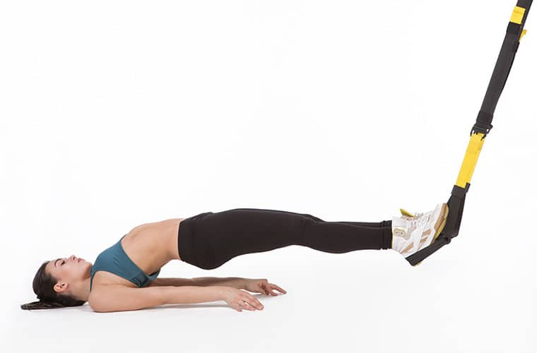 TRX Core Exercises Reverse Mountain Climbers