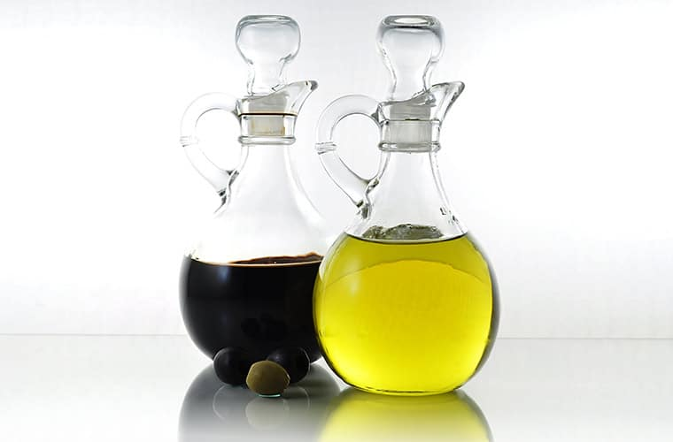 Fat free Balsamic Vinegar and Olive Oil vs. Fat Free Salad Dressing