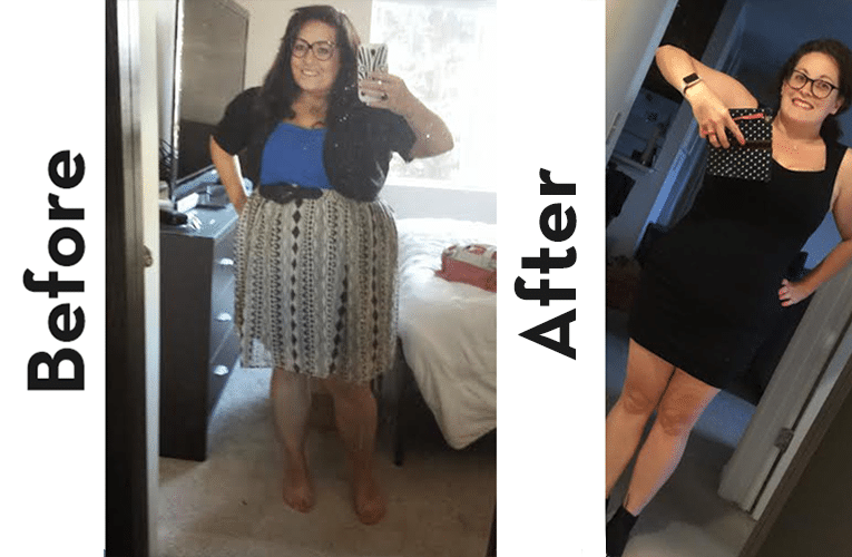 mickella keto before and after