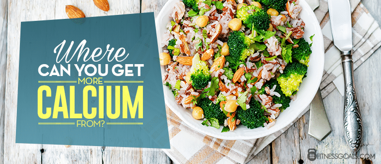 Where Can You Get More Calcium From?
