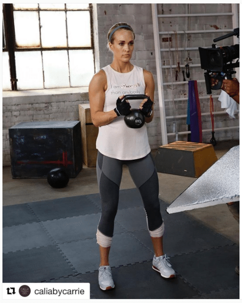 Carrie Underwood Women with Strong Legs