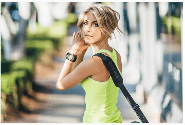 Julianne Hough Back Toning Exercises