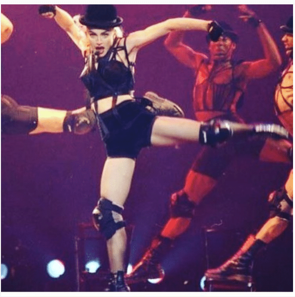 Madonna Strong Female Legs