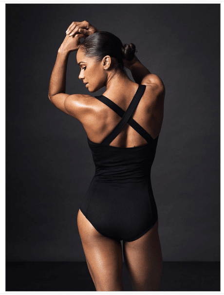 Misty Copeland Upper Back Exercises for Women