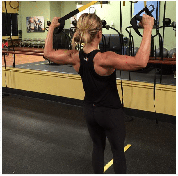 Tamra Judge Back Toning Exercises