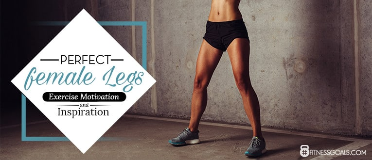 Perfect Female Legs: Exercise Motivation And Inspiration