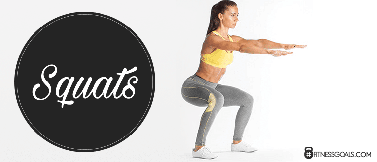 Squats Women's Glute Exercises