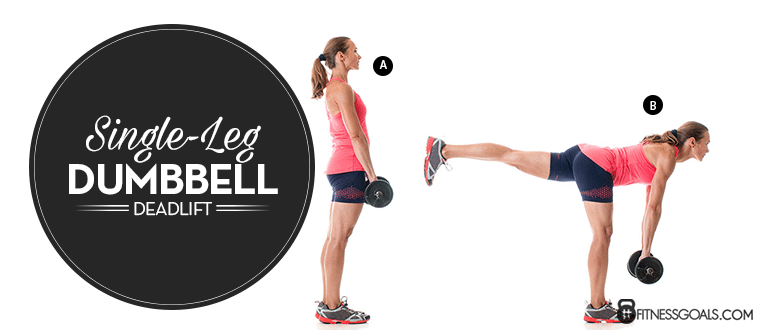 Single-Leg Dumbbell Deadlift