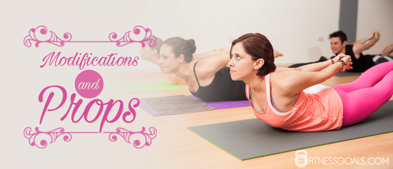 Yoga Locust Pose Modifications and Props