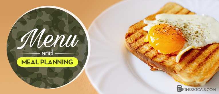 Military Diet Plan Menu and Meal Planning