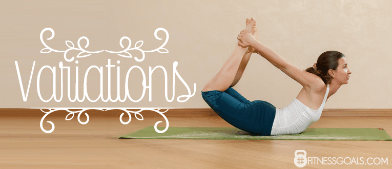 Dhanurasana Bow Pose Variations