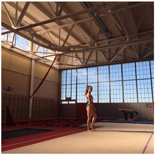Aly Raisman How to Get Hips