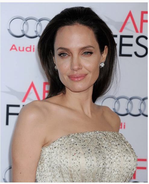 Angelina Jolie Female Shoulders