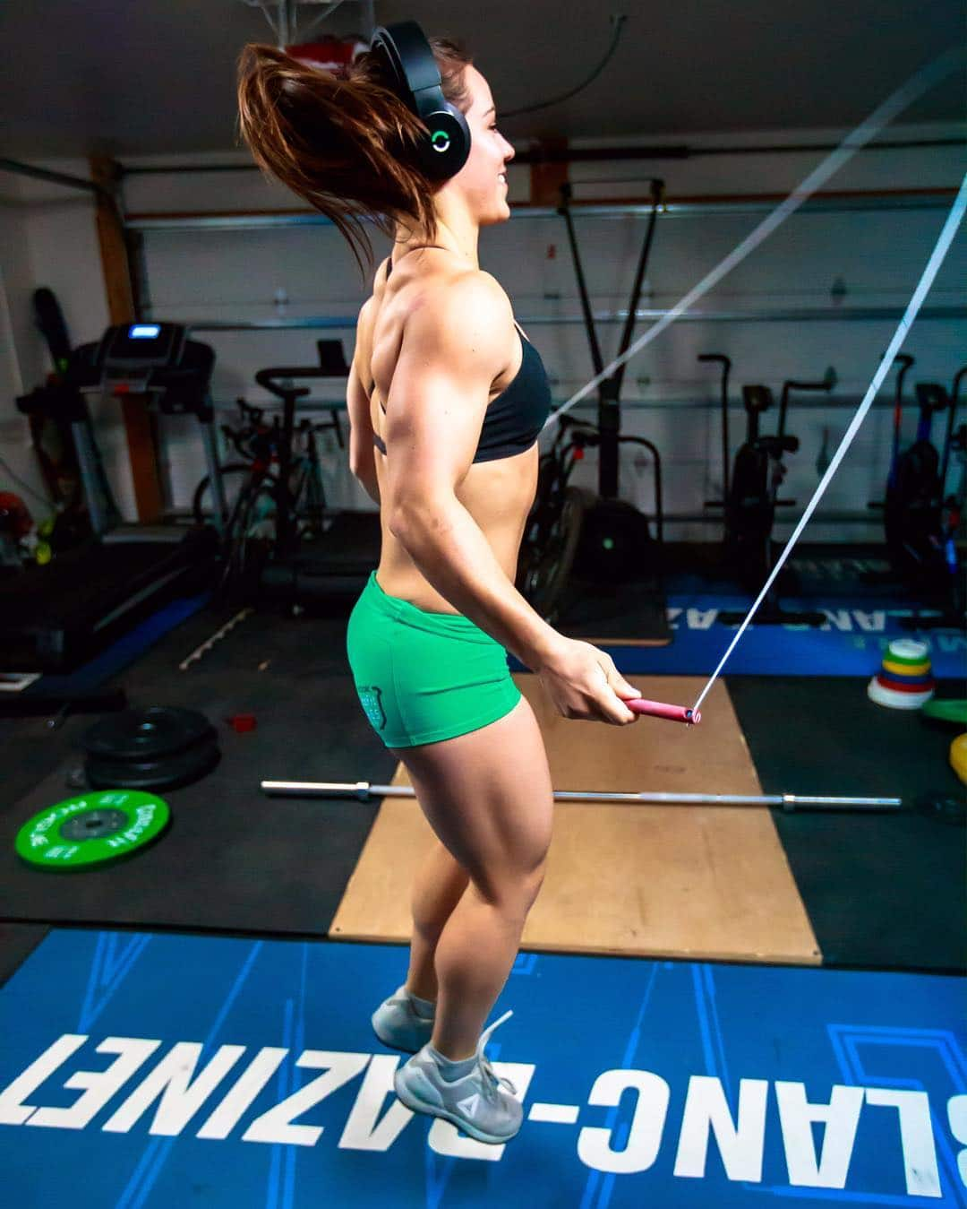 Camille Leblanc-Bazinet Exercises for Traps
