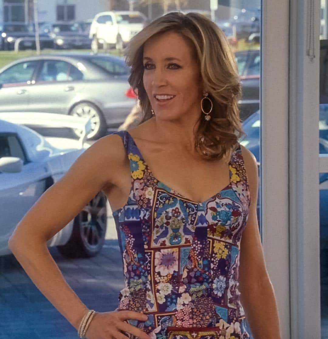 Felicity Huffman Forearm Exercises