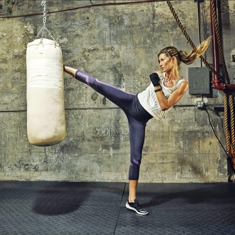 Gisele Bundchen Quadriceps Exercises