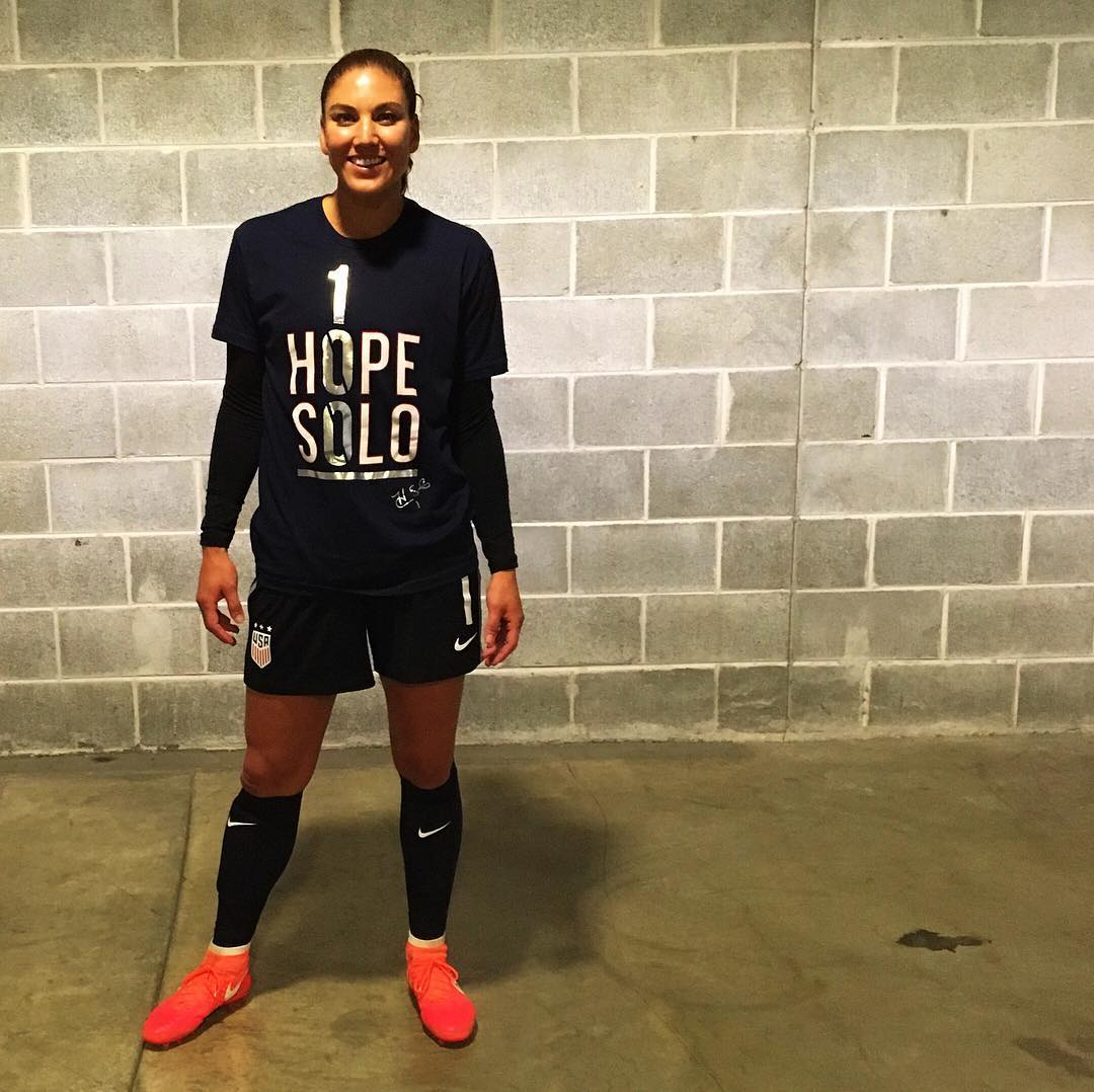 Hope Solo Women With Great Legs