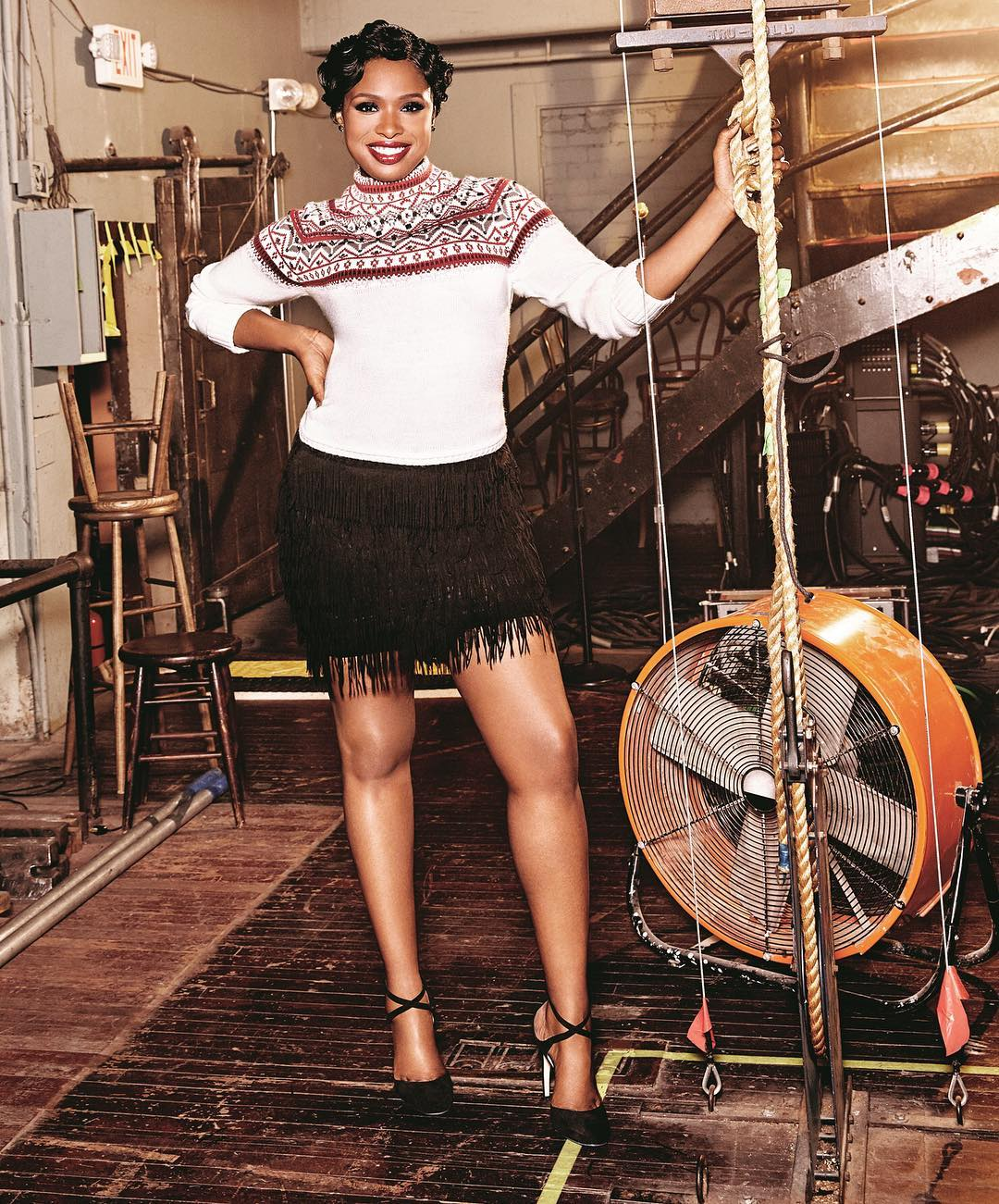 Jennifer Hudson Exercises for Quads